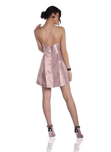 6ixty8ight Mini Abiye Elbise Pudra
